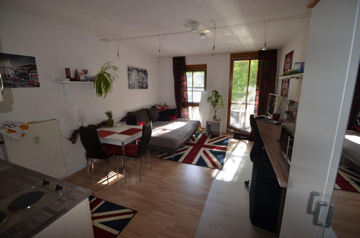 RESERVIERT***Schickes 1-Zimmer-Apartment mit Balkon  als Kapitalanlage***PROVISIONSFREI